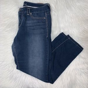 Maurices size 18 regular skinny jeans H04